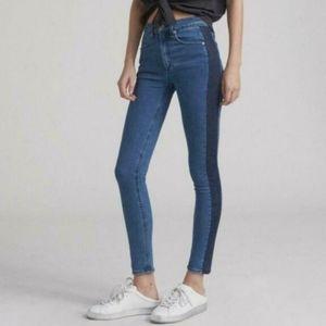 Rag&Bone Mazie high waist skinny jeans double indi